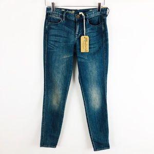 Madewell Skinny Skinny Ankle Jeans Sz 25